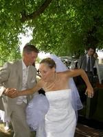 Un mariage à Doue en 2006