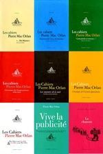 Lot de 9 cahiers Pierre Mac Orlan