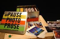 Pause, Photo, Prose