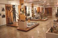 L'intérieur du musée de la Seine-et-Marne, le rez-de chaussée, espace agriculture et artisanat villageois