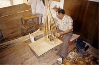 Gilbert Housseau, dernier vannier en activité dans la vallée du Petit-Morin
