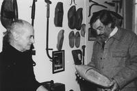 Pierre Guibert et Jean-Pierre Chabrol à l'hôtel Moderne