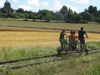 Le Vélo-Rail de La Ferté-gaucher