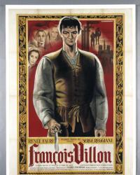 Affiche de François Villon de André Swobada (1945)