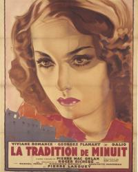 Affiche de La Tradition de Minuit de Roger Richebé (1939)