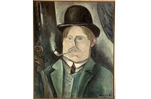 « Autoportrait » Maurice de Vlaminck (1876-1958)