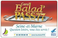 Carte Balad'PASS77