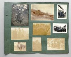 Album photographique de Pierre Mac Orlan datant de la Première Guerre Mondiale