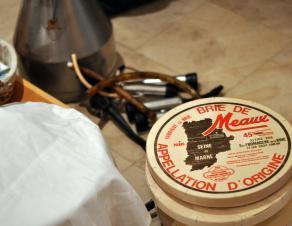 matériel pédagogique pour l'atelier fromage de Brie