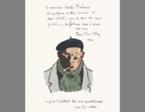 Autoportrait de Pierre Mac Orlan