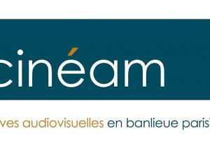 Logo de Cinéam, archives audiovisuelles en banlieue parisienne