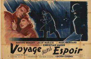 Affiche de Voyage sans espoir de Christian-Jaque