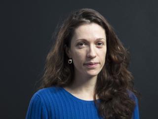 Photographie de la romancière Maylis Besserie