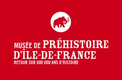 Logo musée de la préhistoire d'Île-de-France