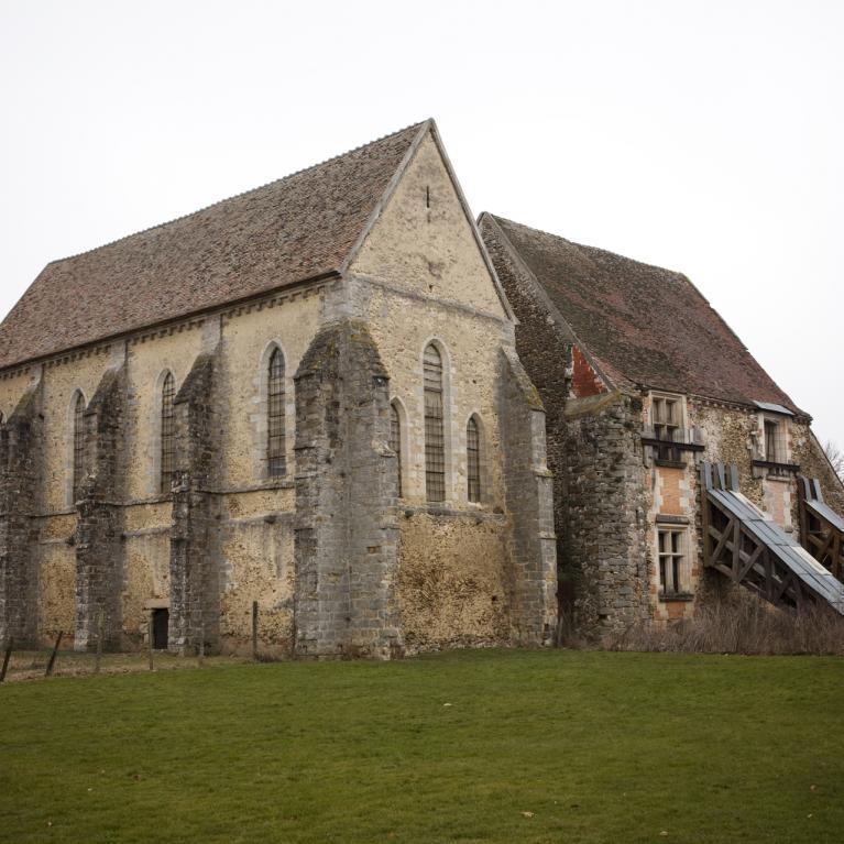 Photographie couleur de la Commanderie des Templiers à Coulommiers en Seine-et-Marne